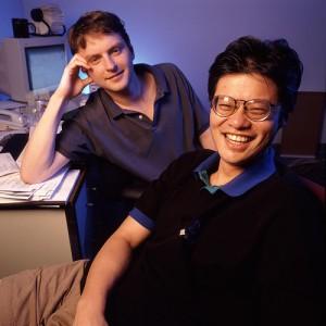 David Filo et Jerry Yang, fondateurs de Yahoo