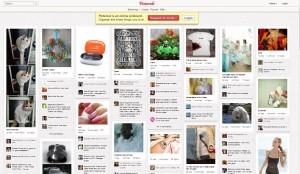Le site Pinterest